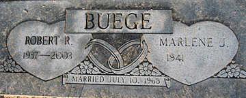 BUEGE, ROBERT R - Mohave County, Arizona | ROBERT R BUEGE - Arizona Gravestone Photos
