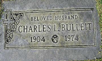 BULLEIT, CHARLES LEO - Mohave County, Arizona   CHARLES LEO BULLEIT - Arizona Gravestone Photos