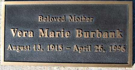 BURBANK, VERA MARIE - Mohave County, Arizona | VERA MARIE BURBANK - Arizona Gravestone Photos