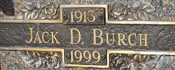 BURCH, JACK D - Mohave County, Arizona | JACK D BURCH - Arizona Gravestone Photos