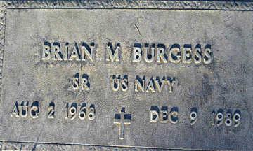 BURGESS, BRIAN M - Mohave County, Arizona | BRIAN M BURGESS - Arizona Gravestone Photos
