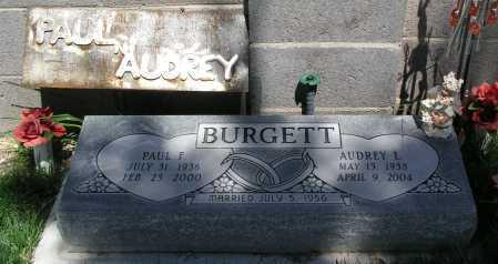BURGETT, AUDREY L. - Mohave County, Arizona   AUDREY L. BURGETT - Arizona Gravestone Photos