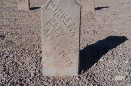 BURKENKAMP, (BABY) - Mohave County, Arizona | (BABY) BURKENKAMP - Arizona Gravestone Photos