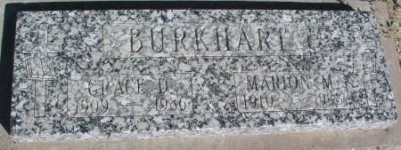 BURKHART, MARION M. - Mohave County, Arizona | MARION M. BURKHART - Arizona Gravestone Photos
