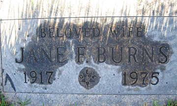 BURNS, JANE F - Mohave County, Arizona | JANE F BURNS - Arizona Gravestone Photos