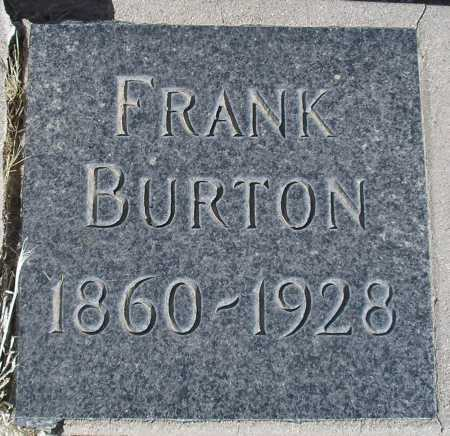 BURTON, FRANK - Mohave County, Arizona | FRANK BURTON - Arizona Gravestone Photos