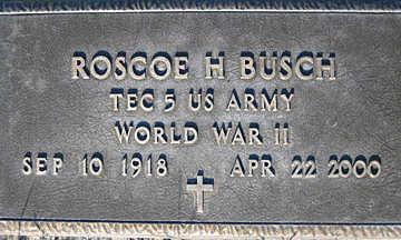 BUSCH, ROSCOE H - Mohave County, Arizona | ROSCOE H BUSCH - Arizona Gravestone Photos