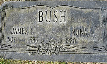 BUSH, JAMES L - Mohave County, Arizona | JAMES L BUSH - Arizona Gravestone Photos