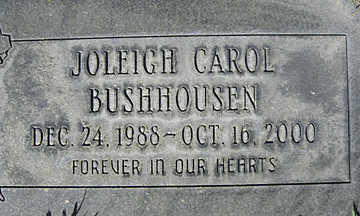 BUSHHOUSEN, JOLEIGH CAROL - Mohave County, Arizona | JOLEIGH CAROL BUSHHOUSEN - Arizona Gravestone Photos