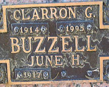 BUZZELL, CLARRON G - Mohave County, Arizona | CLARRON G BUZZELL - Arizona Gravestone Photos