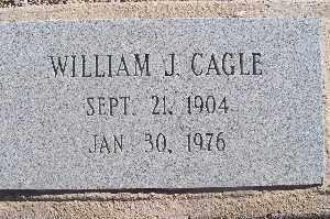CAGLE, WILLIAM J - Mohave County, Arizona | WILLIAM J CAGLE - Arizona Gravestone Photos
