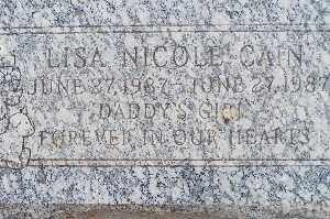 CAIN, LISA NICOLE - Mohave County, Arizona   LISA NICOLE CAIN - Arizona Gravestone Photos