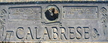 CALABRESE, BETTY G - Mohave County, Arizona | BETTY G CALABRESE - Arizona Gravestone Photos