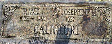 CALIGIURI, JOSEPHINE M - Mohave County, Arizona | JOSEPHINE M CALIGIURI - Arizona Gravestone Photos