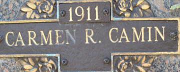 CAMIN, CARMEN R - Mohave County, Arizona   CARMEN R CAMIN - Arizona Gravestone Photos