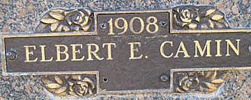 CAMIN, ELBERT E - Mohave County, Arizona | ELBERT E CAMIN - Arizona Gravestone Photos