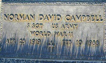 CAMPBELL, NORMAN DAVID - Mohave County, Arizona   NORMAN DAVID CAMPBELL - Arizona Gravestone Photos