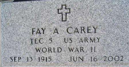 CAREY, FAY A - Mohave County, Arizona | FAY A CAREY - Arizona Gravestone Photos