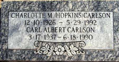 CARLSON, CARL ALBERT - Mohave County, Arizona | CARL ALBERT CARLSON - Arizona Gravestone Photos