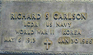 CARLSON, RICHARD S - Mohave County, Arizona | RICHARD S CARLSON - Arizona Gravestone Photos