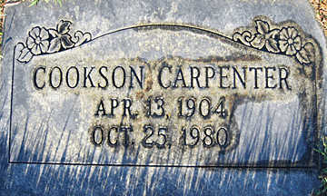 CARPENTER, COOKSON - Mohave County, Arizona | COOKSON CARPENTER - Arizona Gravestone Photos