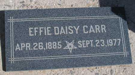 CARR, EFFIE DAISY - Mohave County, Arizona   EFFIE DAISY CARR - Arizona Gravestone Photos