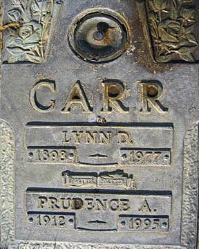 CARR, PRUDENCE A - Mohave County, Arizona | PRUDENCE A CARR - Arizona Gravestone Photos