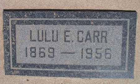 CARR, LULU E. - Mohave County, Arizona   LULU E. CARR - Arizona Gravestone Photos