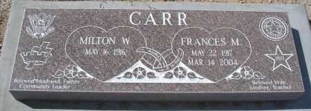 CARR, FRANCES M. - Mohave County, Arizona | FRANCES M. CARR - Arizona Gravestone Photos