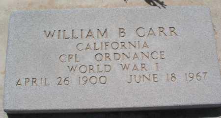 CARR, WILLIAM B. - Mohave County, Arizona | WILLIAM B. CARR - Arizona Gravestone Photos