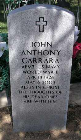 CARRARA, JOHN ANTHONY - Mohave County, Arizona | JOHN ANTHONY CARRARA - Arizona Gravestone Photos