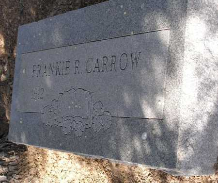 CARROW, FRANKIE R. - Mohave County, Arizona | FRANKIE R. CARROW - Arizona Gravestone Photos