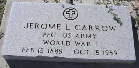 CARROW, JEROME L. - Mohave County, Arizona | JEROME L. CARROW - Arizona Gravestone Photos
