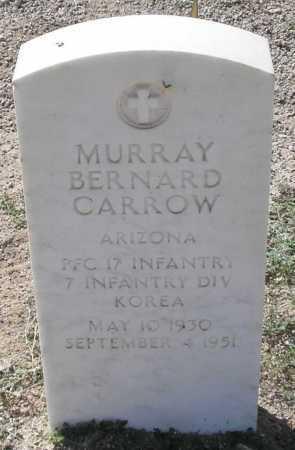 CARROW, MURRAY BERNARD - Mohave County, Arizona   MURRAY BERNARD CARROW - Arizona Gravestone Photos