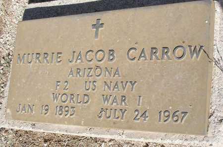 CARROW, MURRIE JACOB - Mohave County, Arizona | MURRIE JACOB CARROW - Arizona Gravestone Photos
