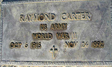 CARTER, RAYMOND - Mohave County, Arizona | RAYMOND CARTER - Arizona Gravestone Photos
