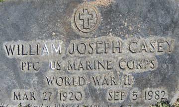 CASEY, WILLIAM JOSEPH - Mohave County, Arizona   WILLIAM JOSEPH CASEY - Arizona Gravestone Photos
