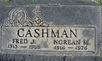 CASHMAN, NOREAN M - Mohave County, Arizona | NOREAN M CASHMAN - Arizona Gravestone Photos