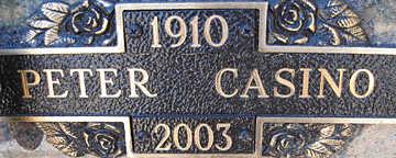 CASINO, PETER - Mohave County, Arizona | PETER CASINO - Arizona Gravestone Photos