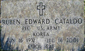 CATALDO, RUBEN EDWARD - Mohave County, Arizona | RUBEN EDWARD CATALDO - Arizona Gravestone Photos