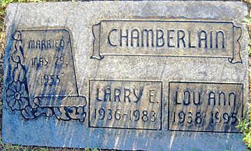 CHAMBERLAIN, LARRY E - Mohave County, Arizona   LARRY E CHAMBERLAIN - Arizona Gravestone Photos