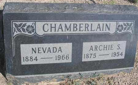 CHAMBERLAIN, ARCHIE S. - Mohave County, Arizona | ARCHIE S. CHAMBERLAIN - Arizona Gravestone Photos