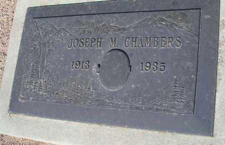CHAMBERS, JOSEPH M. - Mohave County, Arizona   JOSEPH M. CHAMBERS - Arizona Gravestone Photos