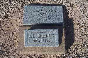 CHAMES, J.D. - Mohave County, Arizona | J.D. CHAMES - Arizona Gravestone Photos