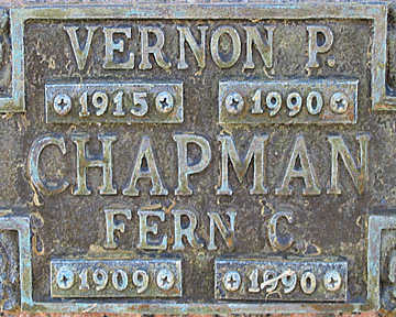 CHAPMAN, FERN C - Mohave County, Arizona   FERN C CHAPMAN - Arizona Gravestone Photos