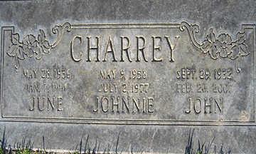 CHARREY, JUNE - Mohave County, Arizona | JUNE CHARREY - Arizona Gravestone Photos