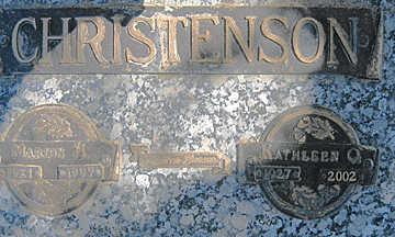 CHRISTENSON, KATHLEEN - Mohave County, Arizona | KATHLEEN CHRISTENSON - Arizona Gravestone Photos