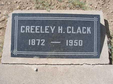 CLACK, GREELEY H. - Mohave County, Arizona   GREELEY H. CLACK - Arizona Gravestone Photos