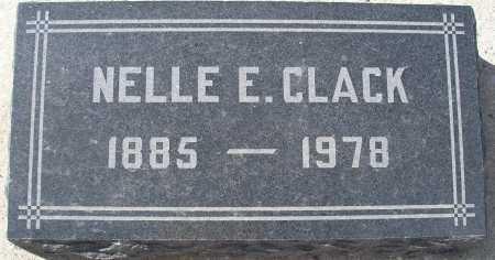 CLACK, NELLE E. - Mohave County, Arizona | NELLE E. CLACK - Arizona Gravestone Photos