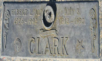 CLARK, ELBERT L - Mohave County, Arizona | ELBERT L CLARK - Arizona Gravestone Photos